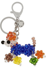 House of Holland Beaded dog keychain