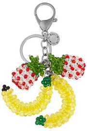 House of Holland Beaded fruit keychain