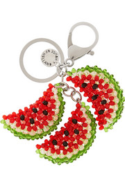 House of Holland Beaded watermelon keychain