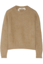 No. 21 Angora-blend sweater