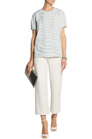 Cédric Charlier Snake-effect crepe top