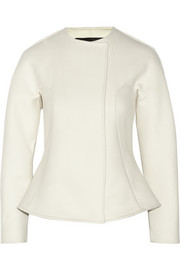 Cédric Charlier Wool-blend twill jacket