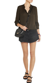 Raquel Allegra Silk-georgette blouse