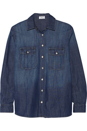 Le Boyfriend chambray shirt
