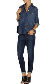 Frame Denim Le Boyfriend chambray shirt