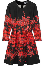 Sonia by Sonia Rykiel Floral-print stretch-jersey mini dress