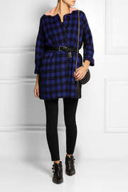 Sonia by Sonia Rykiel Checked knitted coat