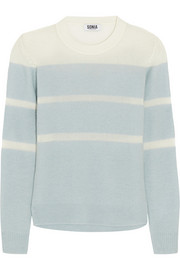 Sonia by Sonia Rykiel Striped wool-blend sweater