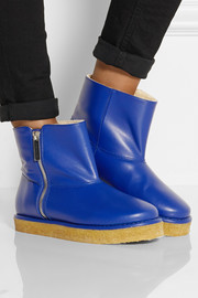 Stella McCartney Brompton faux leather ankle boots