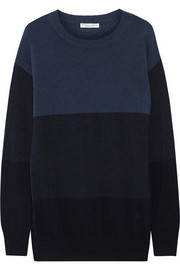 Current/Elliott + Charlotte Gainsbourg The Blocked cashmere sweater