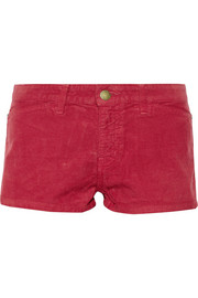 Current/Elliott + Charlotte Gainsbourg The Short corduroy shorts