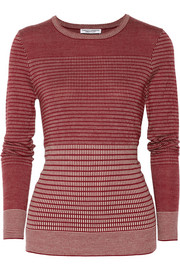 Current/Elliott + Charlotte Gainsbourg The Jacquard merino wool-blend sweater