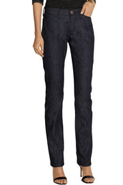+ Charlotte Gainsbourg The Slim Straight mid-rise jeans