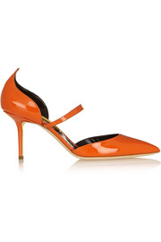 Rupert Sanderson Romantica patent-leather pumps