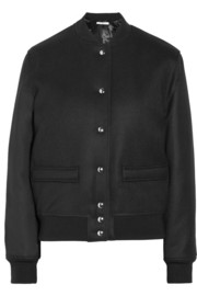 Givenchy Wool-blend twill bomber jacket