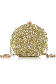 Oscar glittered acrylic shoulder bag