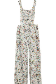 Rosamosario Dizzy Bubbles Chandon silk-chiffon jumpsuit