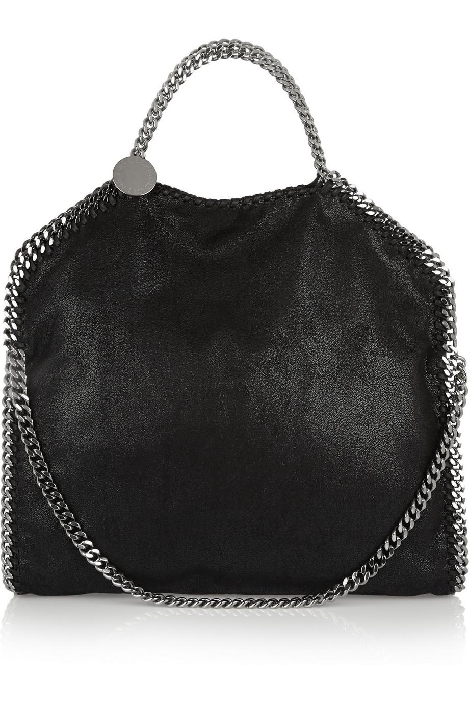 Stella Mccartney The Falabella Faux Brushed Leather Shoulder Bag 15