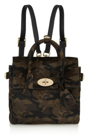Mulberry + Cara Delevingne mini calf hair backpack