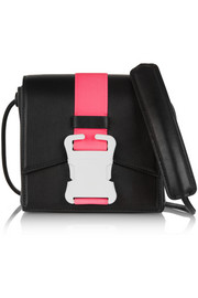 Christopher Kane Buckled leather shoulder bag