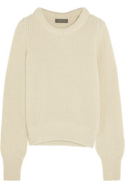 Christophe Lemaire Ribbed wool and yak-blend sweater