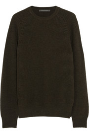 Christophe Lemaire Ribbed merino wool and yak-blend sweater