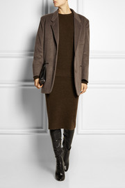 Christophe Lemaire Brushed wool and cashmere-blend jacket