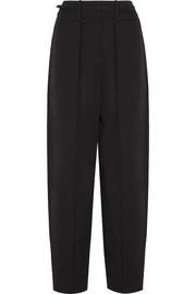 Christophe Lemaire Cotton-crepe wide-leg pants