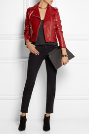 Valentino Cash & Rocket leather biker jacket