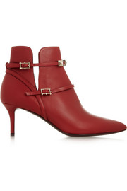 Valentino Cash & Rocket leather ankle boots