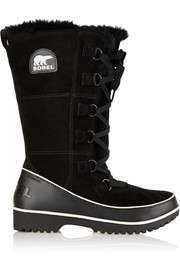 Sorel Tivoli High II waterproof suede and leather boots