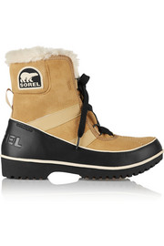 Sorel Tivoli II waterproof suede and leather boots