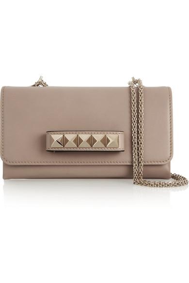 Valentino - Va Va Voom Leather Shoulder Bag - Blush
