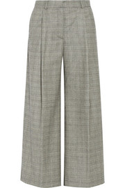Pedro del Hierro Madrid Plaid stretch-wool culottes