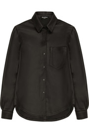 Pedro del Hierro Madrid Leather shirt