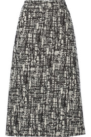 Pedro del Hierro Madrid Wool-blend bouclé midi skirt