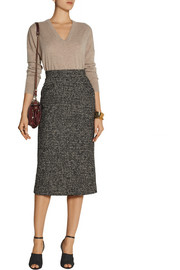 Pedro del Hierro Madrid Wool-blend tweed pencil skirt