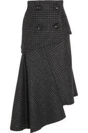 Pedro del Hierro Madrid Asymmetric wool skirt