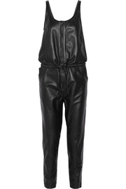 R13 Leather jumpsuit
