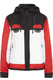 Creatures hooded shell ski jacket