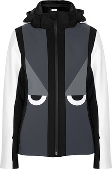 Creatures hooded ski jacket