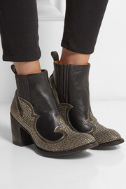 Mexicana Colere studded leather ankle boots