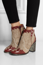 Mexicana Kat distressed leather ankle boots