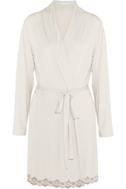 Lady Godiva stretch-jersey robe