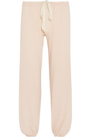 Eberjey Heather cropped jersey pajama pants