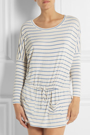 Eberjey Lounge Stripes jersey nightdress