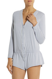 Eberjey Giselle stretch-jersey playsuit
