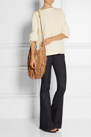 Finds + En Shalla Fringed leather shoulder bag