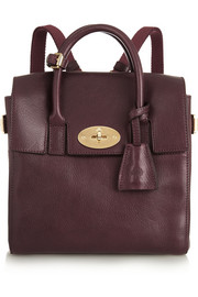 Mulberry + Cara Delevingne mini leather backpack
