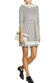 Finds + Wanderclad Sailor cotton-blend jersey mini dress